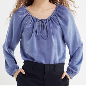 Urban Renewal Remnants Silky Bell-Sleeve Blouse